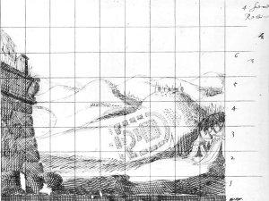 John Webb: 'The Siege of Rhodes': relieve, Mt. Philermus